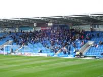 The 396 away supporters