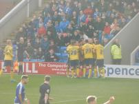 Paddy Madden opens the scoring