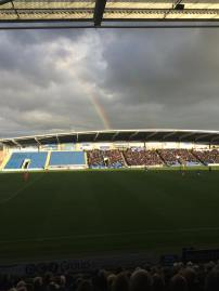 Rainbow over the Proact