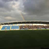 Rainbow over the Proact