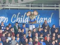 Chester at the back of the Kop!