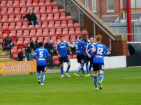 Chesterfield lead in the 8th minute