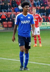Rai Simons makes his first start for Chesterfield