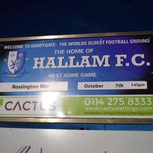 Rossington Main are the visitors