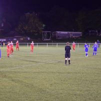 The second half begins with the score 1-1