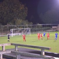 Michael Blythen makes it 3-1 from the spot