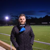 Ryan Hindley celebrating a year in charge of Hallam