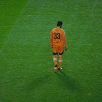 Petr Cech in net