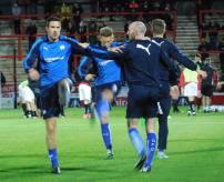 Richard Wood prepares for his Chesterfield debut