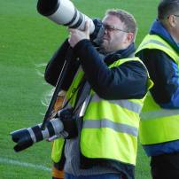 Mansfield fan and photographer Dan Westwell
