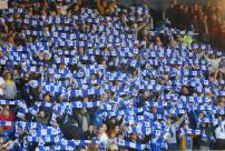 The Leicester supporters
