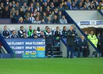 Claudio Ranieri and the Leicester dugout