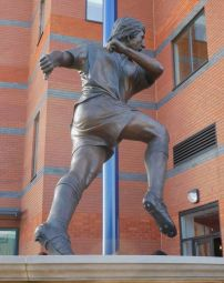 A statue of Tony Brown