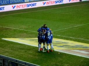Wigan score twice in a minute
