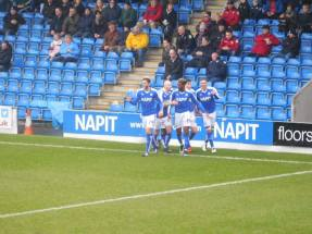 Lee Novak makes it 2-0 five minutes later