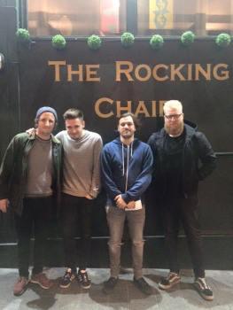 (left to right): Marc Wragg, Lewis Wild, Daniel Jeffery, Chris Brayshaw