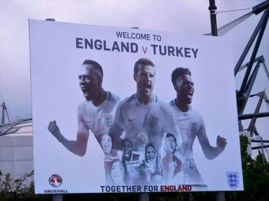 England v Turkey