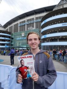 My 5th match at the Etihad