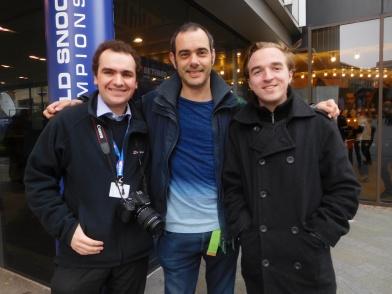 Matt of Pro Snooker Blog and The Statman!