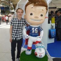 The Euro 2016 mascot