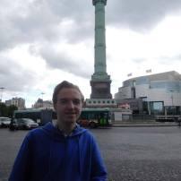 The Bastille monument