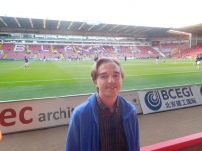 My 15th match at Bramall Lane. I have only seen more at Saltergate (41) and the Proact Stadium (152).