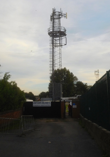 The entrance to the Welfare Ground