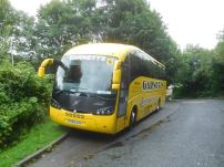 The Bishop Auckland coach