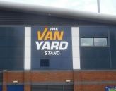 The newly-sponsored Van Yard Stand