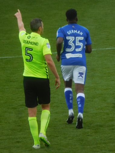 Ricky German makes his Chesterfield debut