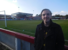 My first visit to Altrincham, my 82nd ground for a game
